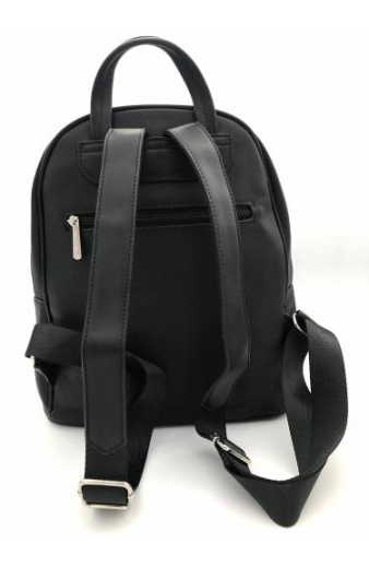 Backbag David Jones - ΜΑΥΡΟ